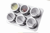 High Quality Magnet Stainless Steel Spice Jar With Stand