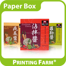 Wholesale Colorful Food Paper Box Packaging