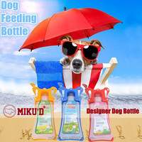 2015 New Product Drinking Bottle for Dog, Dog Feeding Bottles, Pet Dog Water Bottle