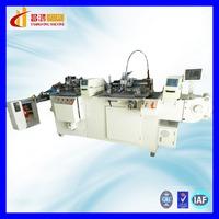 CH-320 New bass shirt collar size label screen printing machine