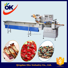 Chocolate candy wrapping machine