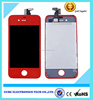 Best sale Colorful lcd touch screen with digitizer complete assembly for iphone 4 4s