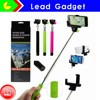 Large Stock For Extendable Camera Tripod Handheld Colorful Wireless Monopod Bluetooth Selfie Stick With Bluetooth Shutter Button