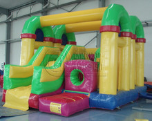 factory price inflatable bouncy slide, inflatable jumping slide