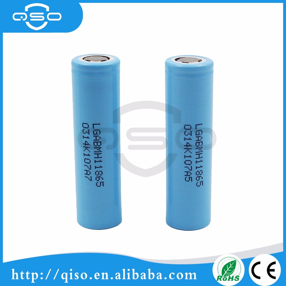 LG MH1 18650 3200 mAh 3.7 V Li-ion recarregável bateria topo plano