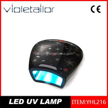 18W CCFL UV Nail Lamp and have printing on the surface