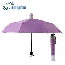 innovadores protección húmeda sin goteo plegable paraguas para la promoción de regalo