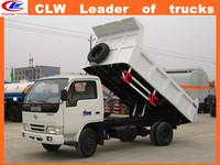 DongFeng 4*2 dump truck 1.5 ton tripper truck lorry