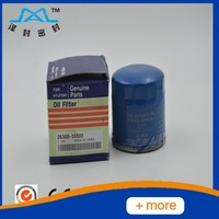 genuine hyundai 4D94E oil filter 26300-35502 use for kia hyundai