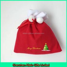 Fancy gift bag,velvet bag for Christmas gift