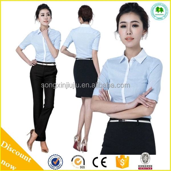2015 new style ladies office uniform design women office for Office uniform design 2014
