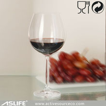 2014 Hot selling lead free pewter stem red wine glass