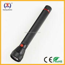 Hot dry battery multicolor plastic emergency HX-988 torch led flashlight