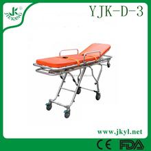 YJK-D-3 used separable aluminum ambulance stretcher for hot sale
