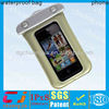 2014 clear pvc wholesale phone waterproof pouch for smart phone