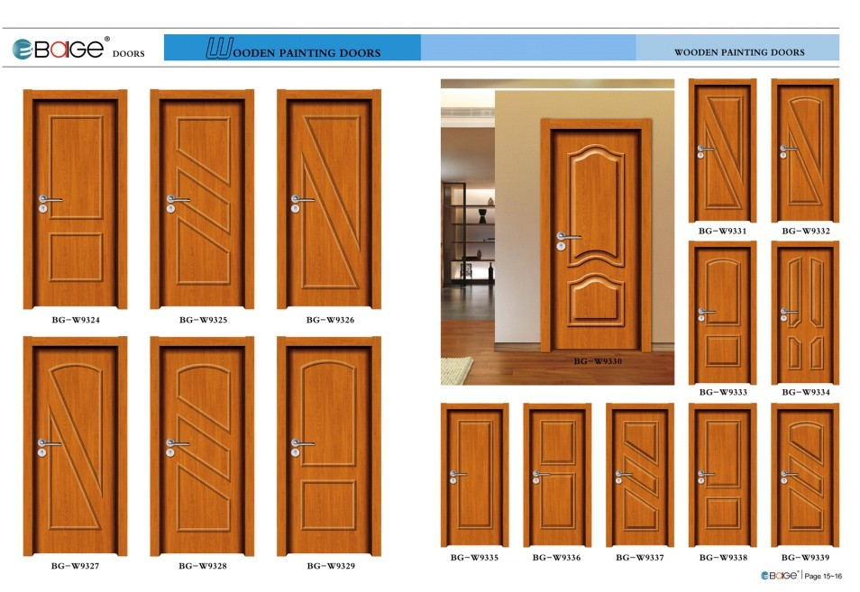 Bg w9331 teak wood double door design buy teak wood for Teak wood doors designs