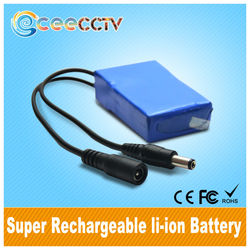 li-ion Battery 12V 9800mah factory supply large capacity lithium rechargeable battery