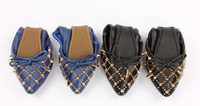 strictly comfort after party women leather flat roll up soft sole dancing wholesale foldable shoes