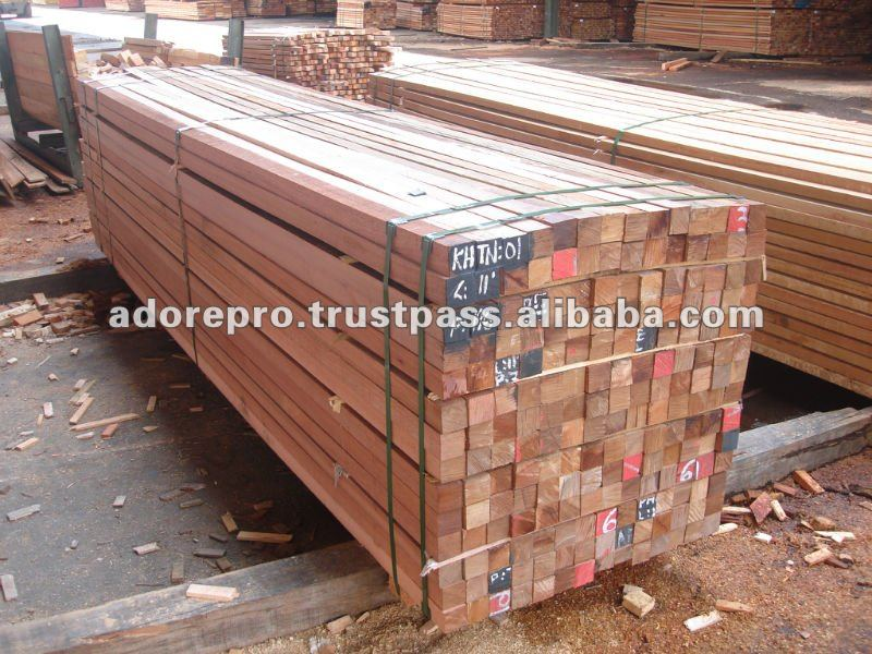 Red meranti sawn timber buy