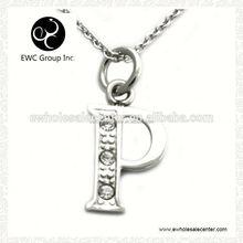 initial/letter necklace pendant