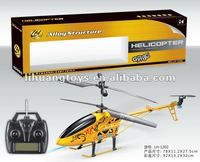Factory directly sale 3.5ch 78CM radio control toy helicopter game with LCD screen