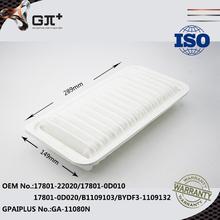 Oem 17801-22020 / 17801-0D010 / 17801-0D020 / B1109103 / BYDF3-1109132 filtro