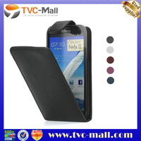 Glossy Vertical Leather Flip Case Cover for Samsung Galaxy Note 2 N7100
