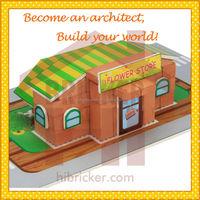 DIY 3D Puzzle DIY Toys , Mini construction Brick Toys