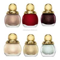 2015 high quality nail polish glass bottle luxury nail polish