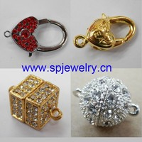 magnetic screw clasps, wholesale jewelry finding