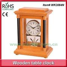 (19.5 x 26.5 cm) Living room decorative wood electric table clock