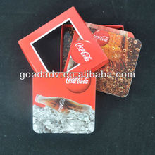 Hot product promotion cork and cardboard coaster