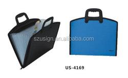 US-4169 Plastic document case with handle