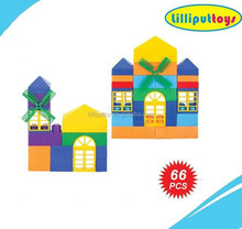 Plastic Material High Quality 66pcs. Blocks Model Toy for Boys and Girls
