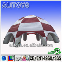 inflatable kids playing tent/inflatable lawn tent/military tent