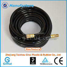 premium PVC air hose used for low temperature general purpose for air,black PVC compound inner air hose