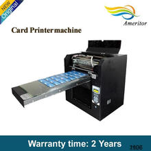 2015 China Automatic Grade and Digital Printer Type uv flatbed A3 cheap plastic card printer
