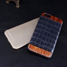 Hot New product for Iphone 6 genuine crocodile leather phone case for iphone 6 covers leather Dongguan Factory