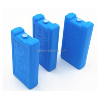 500ml blue ice ice brick,plastic cooler ice box,ice pack gel
