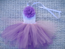 ST-652 baby girls frock design dress,handmade crocheted dress for evening party purple/pink/green/red colors