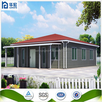 Promotion fast construction mdoern pre-fabricated houses