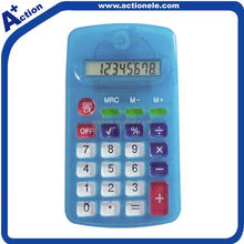 plastic moulding 8 digital calculator for promotional