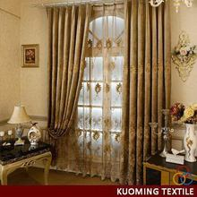 Fashionable best selling blackout embroidery cafe curtain