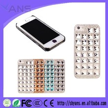 Woman Luxury Bling Rhinestone Crystal Beautiful Cell Phone Back Case For Iphone 6