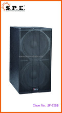 SPE Audio SP-218B Powered Pro Dual 18 inch Club Subwoofer
