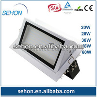 new product 2014 innovation Epistar 60w led downlight led light made in china