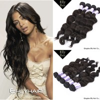 Brazilian loose wave hair weave factory price natural color brazilian virgin hair fix hair