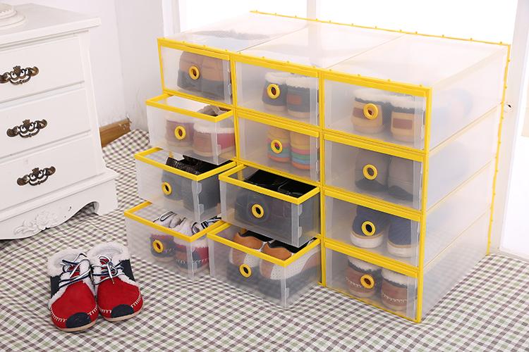 Enfants en plastique tiroir bo te chaussures couleur for Entreposage meuble montreal