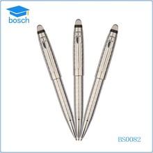 Promotion metal ball pen/telescopic logo pen
