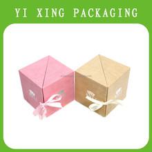2015 YiXing elegant-style Luxury Purple Color Book Shape Custom Golden Logo Paper Macaron Chocolate Gift Box,gift set
